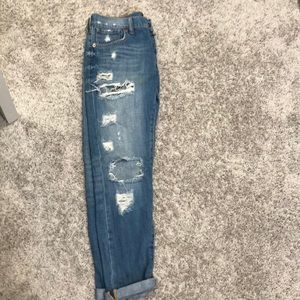 Women's Lucky Brand distressed Boyfriend Jeans